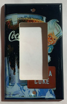 Have a Coke Coca-Cola Light Switch Outlet wall Cover Plate Home Decor image 3