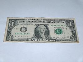 2009 $1 Dollar Bill US Bank Note Date WWII Year Birthday 6756 1944 Fancy... - $13.78