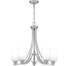 Pruitt 5-Light Chandelier in Brushed Nickel - $369.99