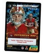 Nick Bosa 2019 Panini NFL Five Cracked Ice Rookie RK223 CCG TCG 49ers - $20.00