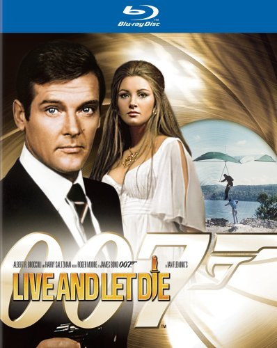 007 James Bond Live and Let Die [Blu-ray]