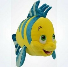 Disney Parks Authentic The Little Mermaid Flounder Plush New With Tags - $44.54
