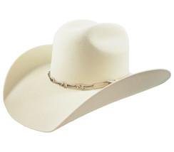 Men's Cowboy Hat El General Texana 50X Horma Toro Color White Wool - €73,77 EUR