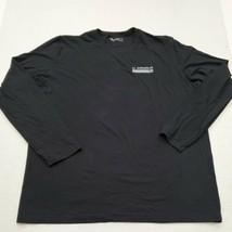 Under Armour HeatGear Men's Black  Long Sleeve T-Shirt 2XL Excellent Con... - £17.98 GBP
