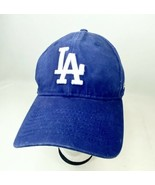 Los Angeles Dodgers New Era 9Twenty OSFA Strapback Hat Blue  - $11.87