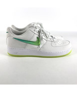 Nike Air Force 1 '07 PRM 2 Low Men's size 14 White Hyper Jade Volt AT414... - $103.95