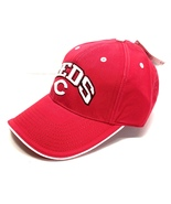 "Cincinnati Reds Vintage MLB Block ""Reds"" Cap (New) By Drew Pearson Marke... - $27.99"