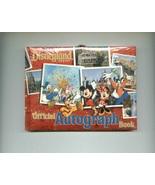 Disney Parks AUTOGRAPH BOOK + ID KEEPER + SORCERERS of the MAGIC KINGDOM... - $9.00