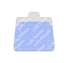 Coin Purse Dex Card / Greeting Card DIGITAL Files.  Instant Download.  PNG & SVG image 2
