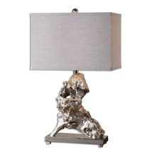 Uttermost Rilletta Metallic Silver Table Lamp - $206.80