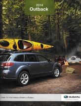 2014 Subaru OUTBACK brochure catalog 14 US 2.5i Limited Premium 3.6R - $8.00