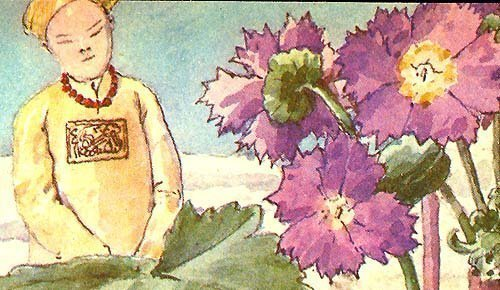Doyle Book Art Print 1889 CHINESE PRIMROSE pun intended - $15.99