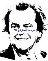 JACK NICOLSON-NEW RELEASE! NEW mounted rubber stamp - $8.10