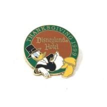 Disney Cast Member Pin Donald Duck Disneyland Hotel Thanksgiving 1999 - $40.50