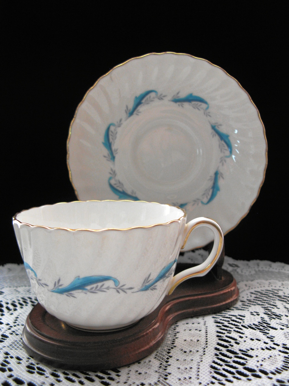 Primary image for Minton Downing Fine Bone China Cup & Saucer
