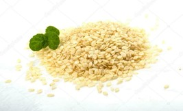White Sesame Seeds Raw Natural Food Baking Bread 80 grs Spices of the World - $10.99