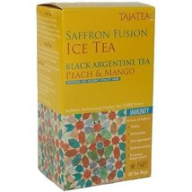 TajaTea Saffron Ice Tea Black Argentine Peach M... - $69.15