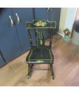 1968 J. S. Ebersol Child's Rocking Chair, Very Little Wear and Nice - $79.48