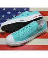 CONVERSE Chuck Taylor ALL-STAR OX 70 SAMPLE Blue White Leather [160495C]... - $78.88