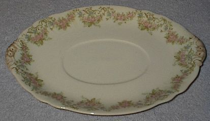 Primary image for Antique French Limoges Wm. Guerin Co. Gravy Boat Platter