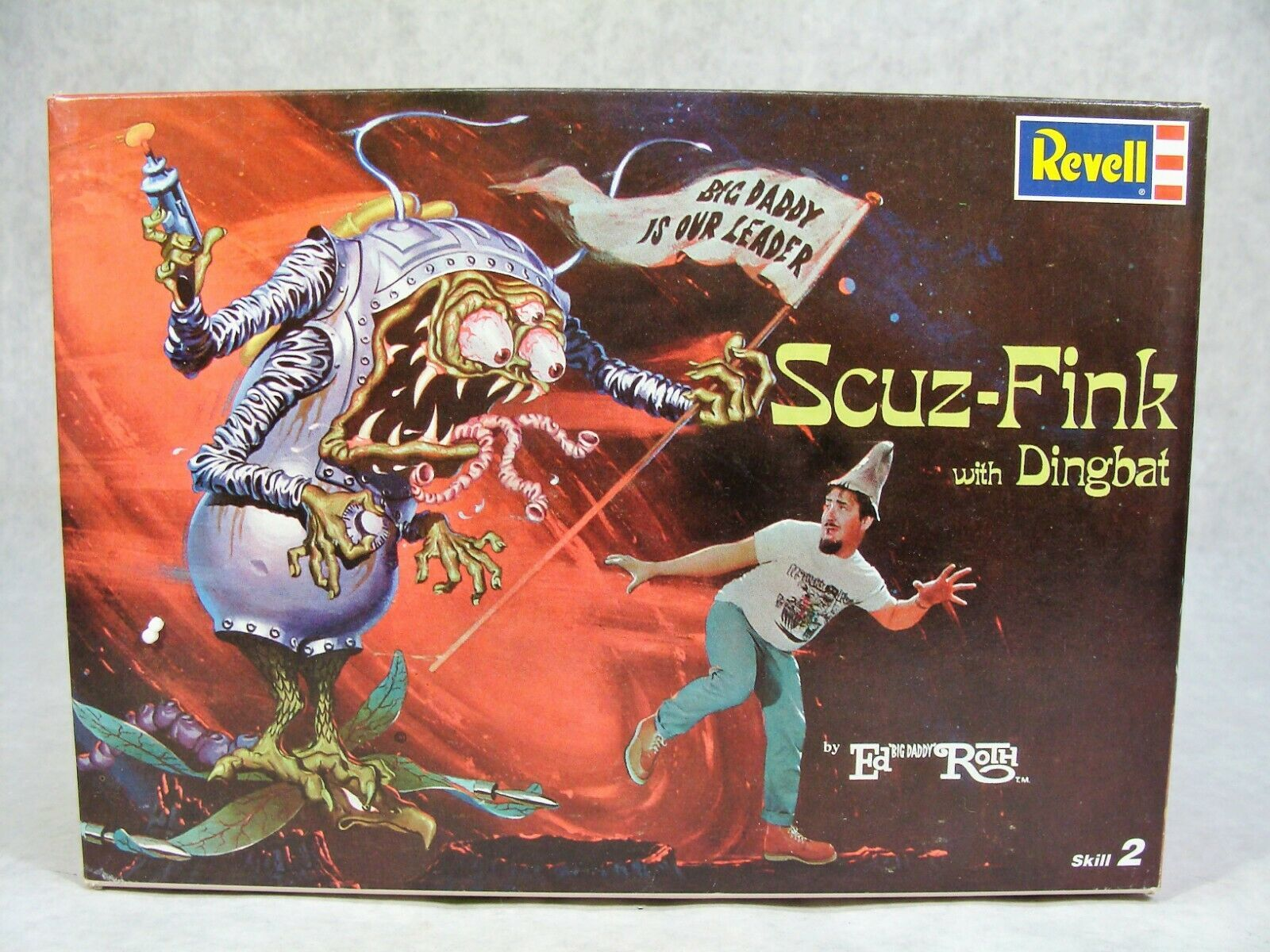 "Primary image for REVELL ED ""BIG DADDY"" ROTH'S SCUZ-FINK W/DINGBAT RAT FINK MODEL KIT NEW"