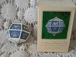 Hallmark Musical Ornament The Twelve Days of Christmas. - $19.39