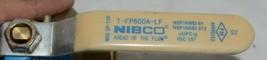 NIBCO TFP600A LF Lead Free Brass Ball Valve CS Standard Level Handle 2 Inch image 2