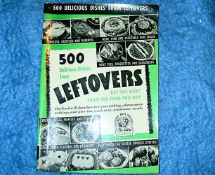 Culinary Arts 500 Delicious Dishes From Leftovers 1940
