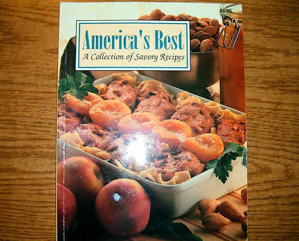 Americas Best A Collection of Savory Recipes Cookbook Volume 3