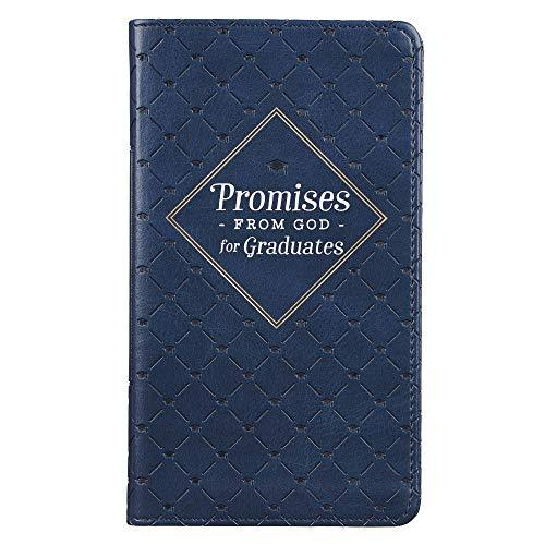 Primary image for Promises From God For Graduates | Navy Faux Leather Flexcover Gift Book for Grad