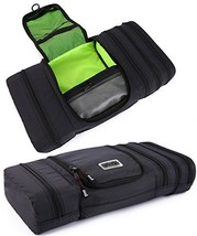 Pro Packing Cubes Travel Toiletry Bag - Packs Flat To Save Space - Water... - $24.47