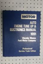 1991 Motor Chrysler Ford 88-91 Auto Tune Up Electronics Manual V2 Free US Ship  - $29.75