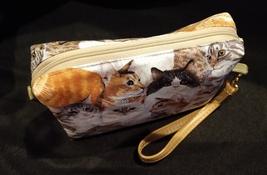 Clutch Bag/Wristlet/Makeup Bag - Cats image 3