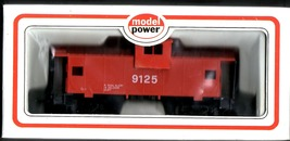 HO Trains  Caboose HO  Red Safety #9125 HO Scale by Model Power - $6.50