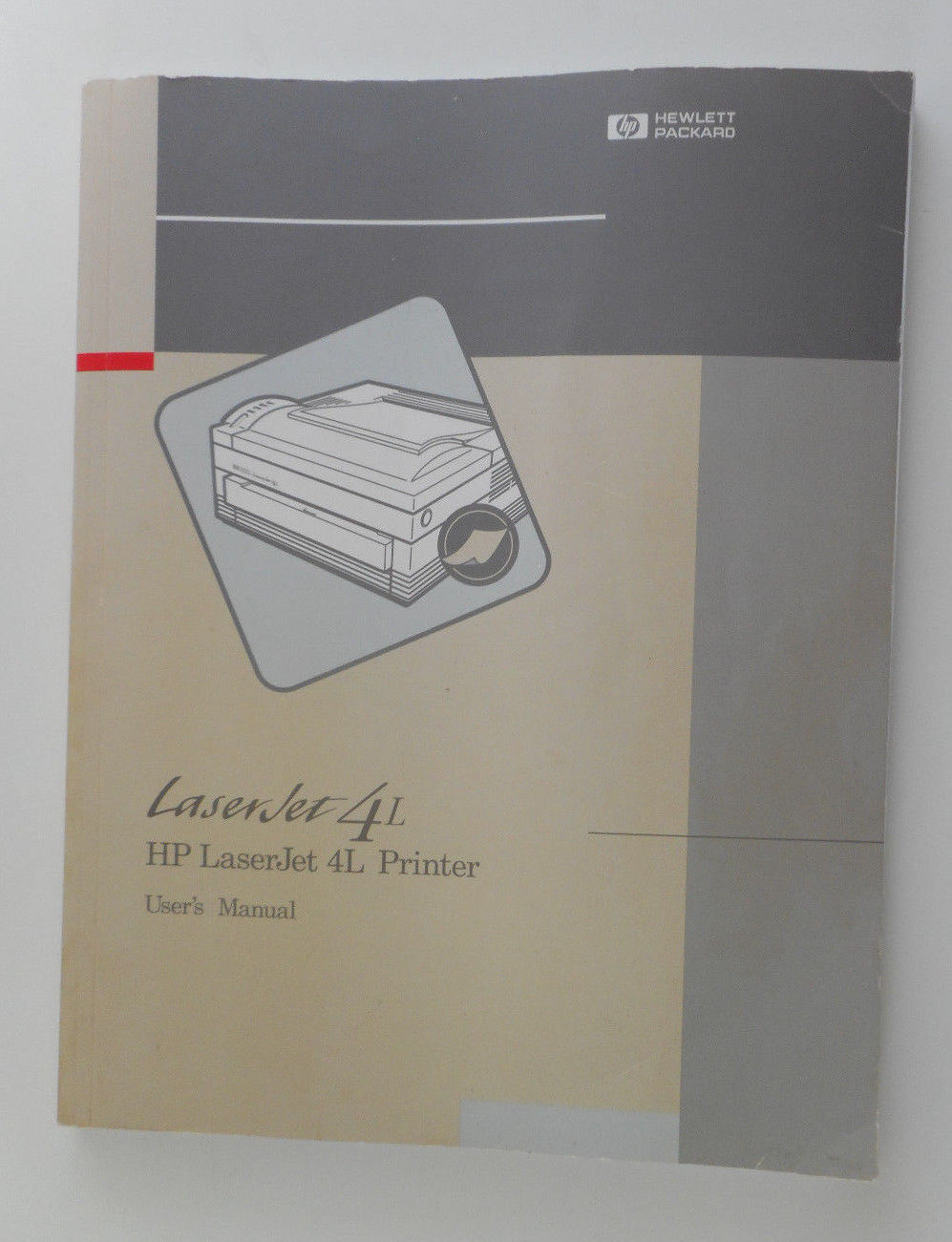 User's Manual HP LaserJet 4L Printer Hewlett Packard good used condition