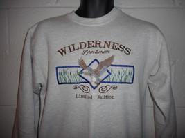 Vintage Wilderness Sportsman Duck Sweatshirt Medium - $19.99
