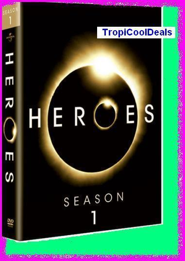 Primary image for Heroes Season 1 One 1st First on DVD