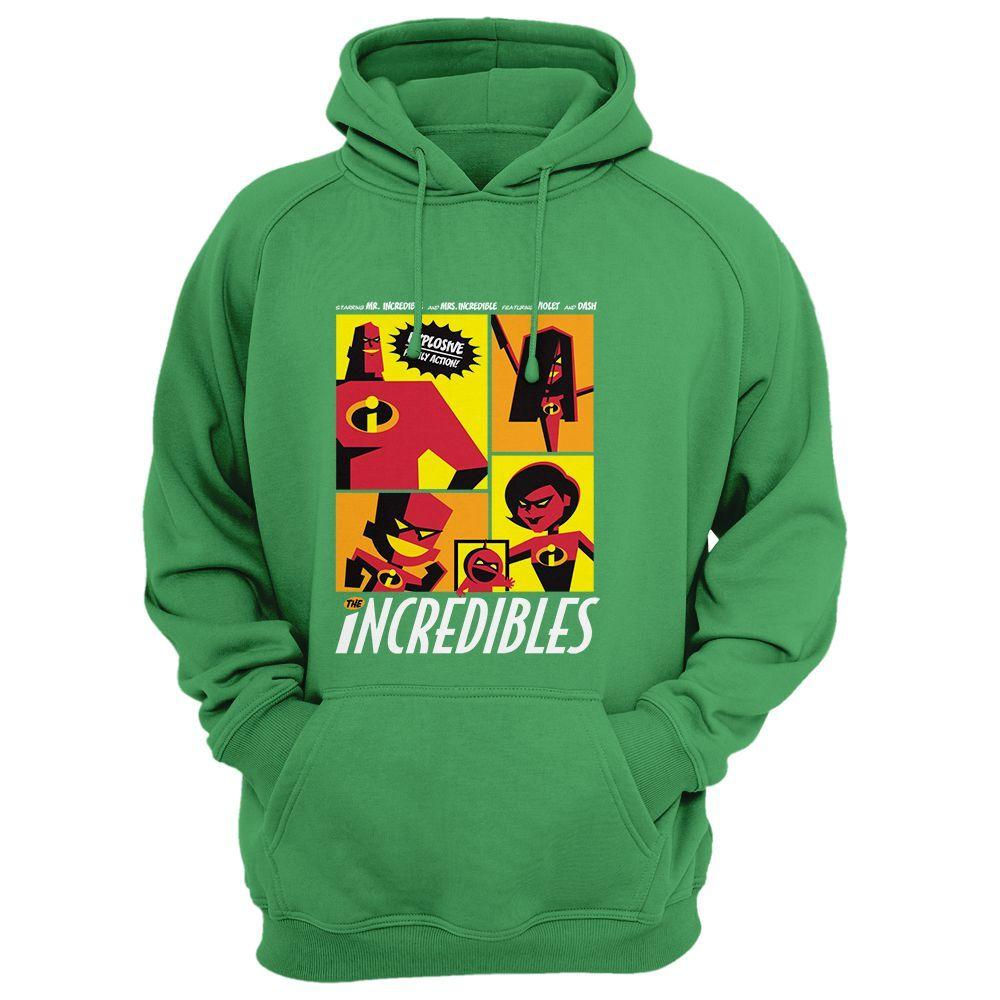Pixar The Incredibles Comics Hoodie