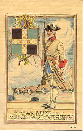 Primary image for  Private of The 24th La Reine Regiment Post Card