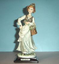 Giuseppe Armani Country Girl Figurine w/Flower ... - $199.90