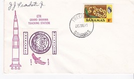 ETR GRAND BAHAMAS TRACKING STATION FREEPORT BAHAMAS & LOCAL POST 1971 SI... - $1.78