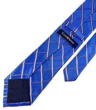 New CLUB ROOM Men's Silk Neck Tie Blue Stripes - $12.95