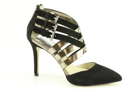 Michael Kors Cammie Back Zip Womens Size 8.5 Black Suede Size 8.5 - $80.74