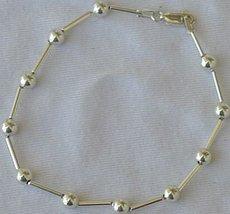 silver balls bracelet - $21.00