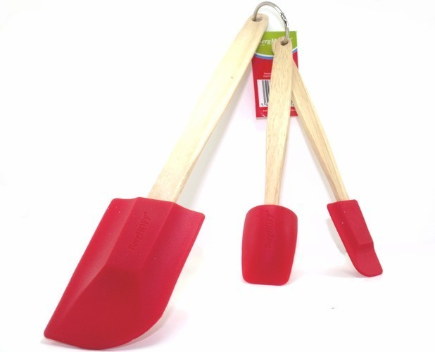 Primary image for bergHOFF 3 Piece Silicone Spatula Set