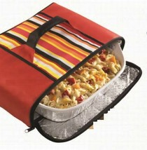 NEW Stow-A-Way Collapsible Food Carrier Insulated Zipper-12 pieces-Bulk-... - $91.08