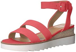 Franco Sarto Women's Connolly Wedge Sandal Coral 6 M US - $37.13
