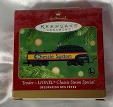 Tender Lionel Chessie Steam Special Christmas Ornament 2001 Hallmark - $10.00
