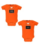 Halloween Twins 9 Months Inside Prisoner Costume Soft Twins Baby One Piece - $29.95