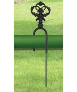 Hose Guide Village Wrought Iron Inc Decorative ... - $14.73